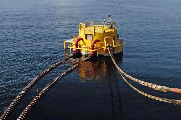 FLUID SWIVEL CALM Catenary Anchor Leg Mooring Fluid Swivels De Pretto Industrie