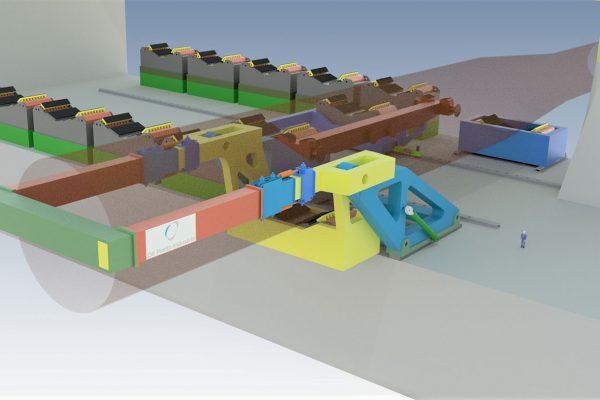 OFFSHORE WIND INSTALLATION EQUIPMENT MONOPILE HANDLING De Pretto Industrie