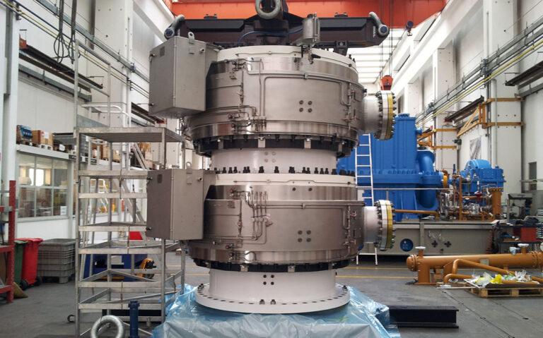 FLUID SWIVEL TURRET SWIVEL subsea equipment De Pretto Industrie