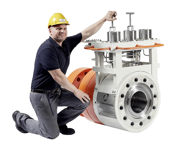 SUBSEA SWIVEL AND CONNECTORS FOR FLEXIBLE FLOWLINES AND RIGID PIPELINES De Pretto Industrie